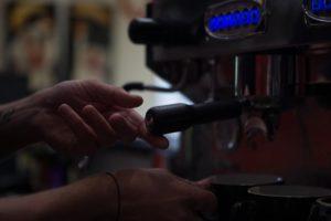 Barista made Yahava coffee